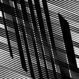 Случайные пересекая линии абстрактная геометрическая картина Случайное gri иллюстрация вектора