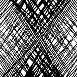 Случайные пересекая линии абстрактная геометрическая картина Случайное gri бесплатная иллюстрация