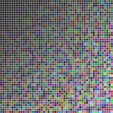 Случайные покрашенные квадраты Стоковое Фото