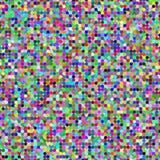 Случайные покрашенные квадраты Стоковое фото RF