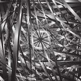 Случайные хаотические линии резюмируют геометрические картину или текстуру стоковые изображения rf