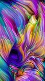Случайный жидкостный цвет Стоковое Изображение
