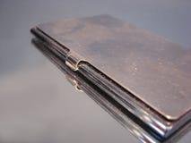 Случай визитной карточки металла Стоковые Изображения RF
