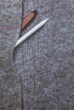 Случай войлока серого цвета Стоковое Изображение RF