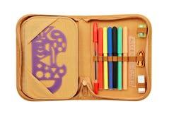 Случай карандаша Стоковая Фотография