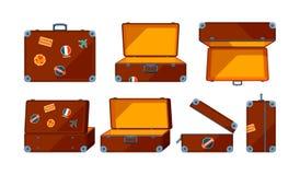 Случай перемещения Взгляды вектора различные случая перемещения иллюстрация штока