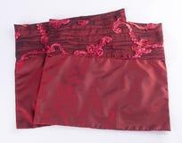 случай подушки или крышка подушки на предпосылке Стоковые Изображения RF