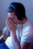 слушает нот к Стоковое Изображение RF