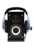слушать Стоковая Фотография RF
