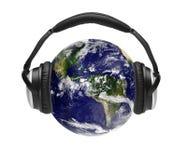 слушая мир Стоковая Фотография RF