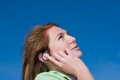 слушая нот к Стоковые Фотографии RF
