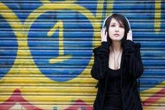 слушая нот Стоковая Фотография RF