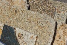 Слябы гранита Стоковое Фото