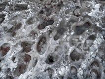 Слякоть Crosswalk. Пешеходный переход в зиме. стоковое изображение