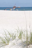 смажьте работников расслоины seashore Стоковые Фото