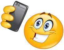 Смайлик Selfie иллюстрация штока