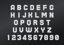 Смелейшее английского шрифта сильное Стоковое Изображение RF