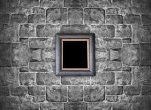 Смертная казнь через повешение картинной рамки на каменной кирпичной стене Стоковая Фотография