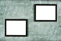 Смертная казнь через повешение картинной рамки на стене Стоковые Изображения RF