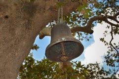 Смертная казнь через повешение колокола монастыря от старой Стоковое Изображение