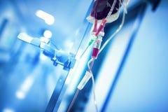 Смертная казнь через повешение системы переливания крови на железном поляке готовом для использования I стоковая фотография rf