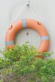 Смертная казнь через повешение томбуя кольца на стене Стоковая Фотография