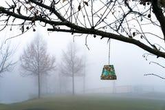 Смертная казнь через повешение цветочного горшка от дерева Стоковые Фото