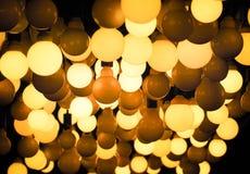 Смертная казнь через повешение шарика освещения от потолка Стоковое фото RF