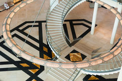 Смертная казнь через повешение люстры в музее исламского искусства, Дохе, Катаре Стоковые Изображения RF