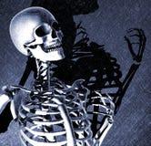 смерть имеет сказать что-то к иллюстрация вектора