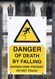 смерть опасности Стоковое Изображение RF