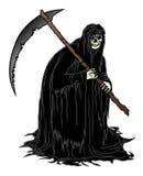 Смерть с косой Стоковое Фото
