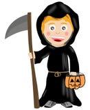 смерть costume Стоковое Изображение