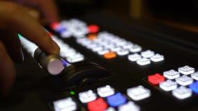 Смеситель профессиональной передачи видео- в студии сток-видео