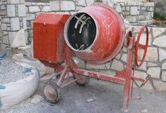 смеситель цемента Стоковые Фото