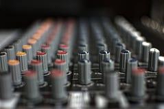 Смеситель DJ стоковое изображение