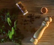 смесь трав Стоковое Изображение RF