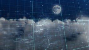 Смесь цифров светокопии кибер иллюстрация вектора