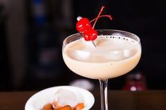 Сметанообразный спиртной коктеиль Стоковые Фото