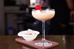 Сметанообразный спиртной коктеиль Стоковые Изображения