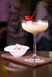 Сметанообразный спиртной коктеиль Стоковая Фотография