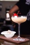 Сметанообразный спиртной коктеиль Стоковое Изображение RF