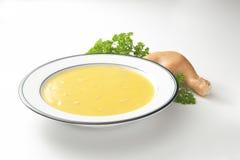 Сметанообразный суп цыпленка Стоковое Изображение