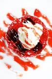 Сметанообразный торт Стоковое Изображение