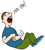 смех живота Стоковая Фотография RF