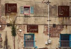 Смех, надежда, влюбленность Стоковое Изображение