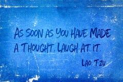 Смех на ем Tzu стоковое изображение