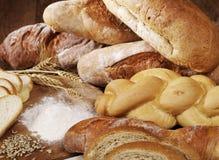 Смешанная предпосылка хлебов Стоковые Фото