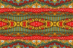 Смешанная этническая картина иллюстрация вектора