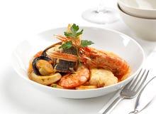 Смешанное блюдо морепродуктов Стоковые Фотографии RF